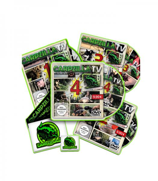 CarpzillaTV Bundle 1+2+3+4+Stickerset