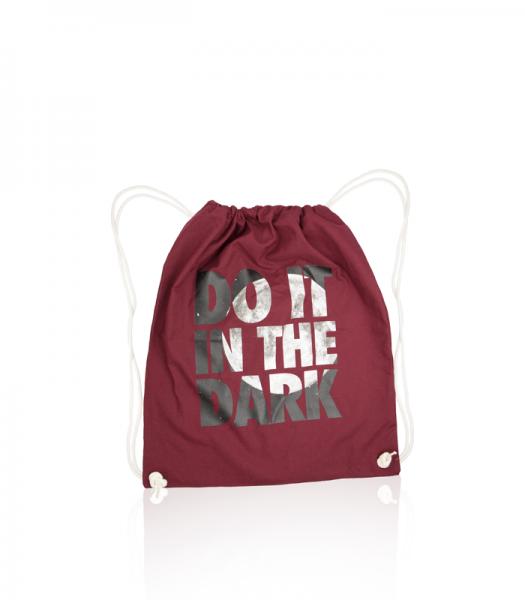 Gym Bag - Do it in the dark